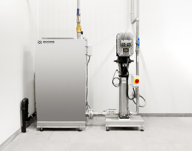 A break tank as an extension to your cleaning system offers a guarantee of safety