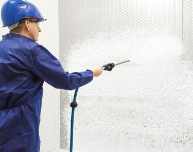 the advantages of cleaning and disinfecting with foam
