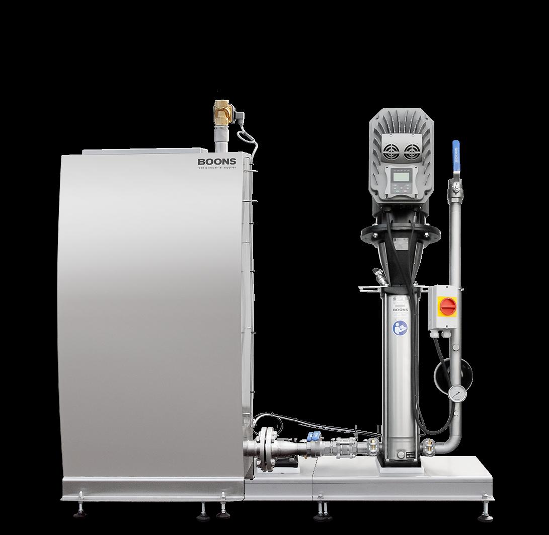 pressure‑booster unit SPU‑EB