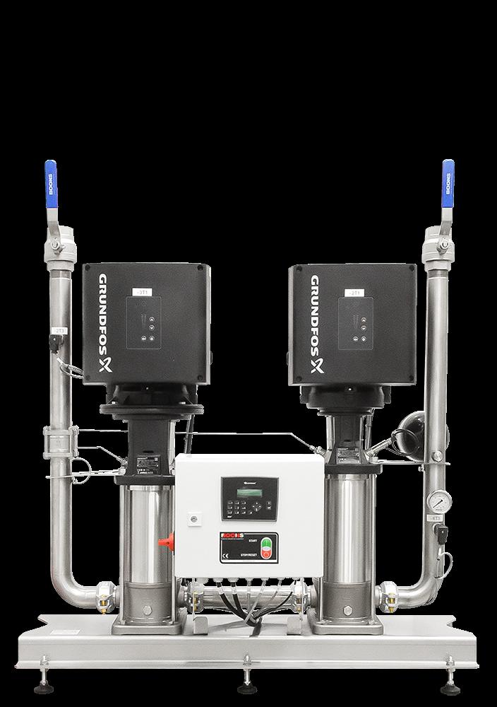 Unité d'accroissement de pression eMPU2‑GR