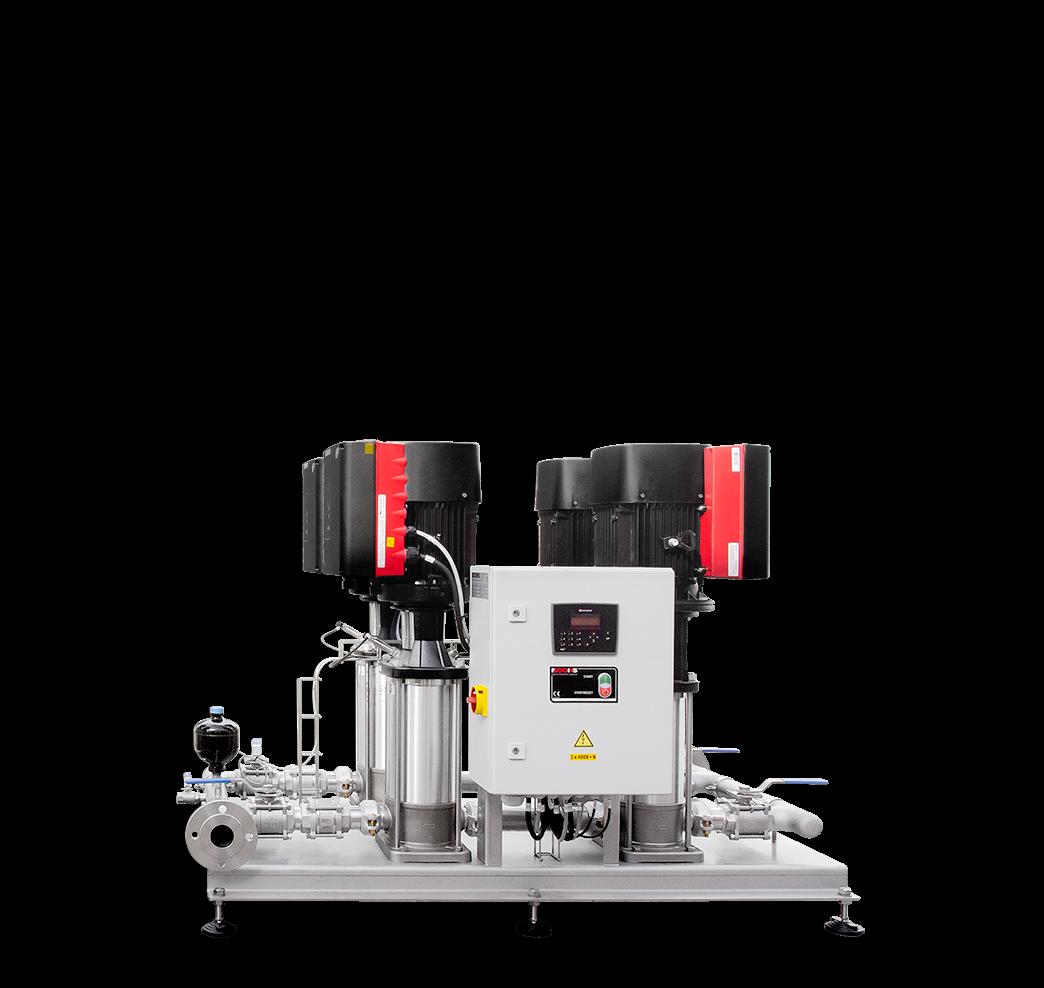 Pressure‑booster unit eMPU4‑GR