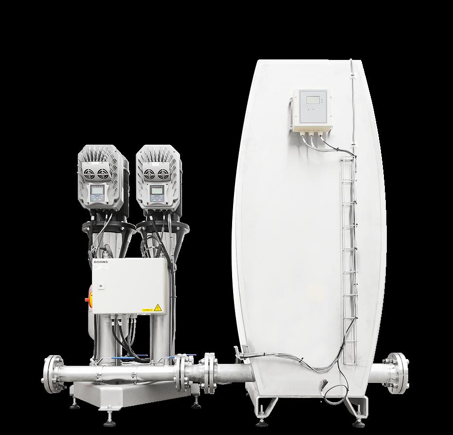 pressure‑booster unit MPU2‑EB