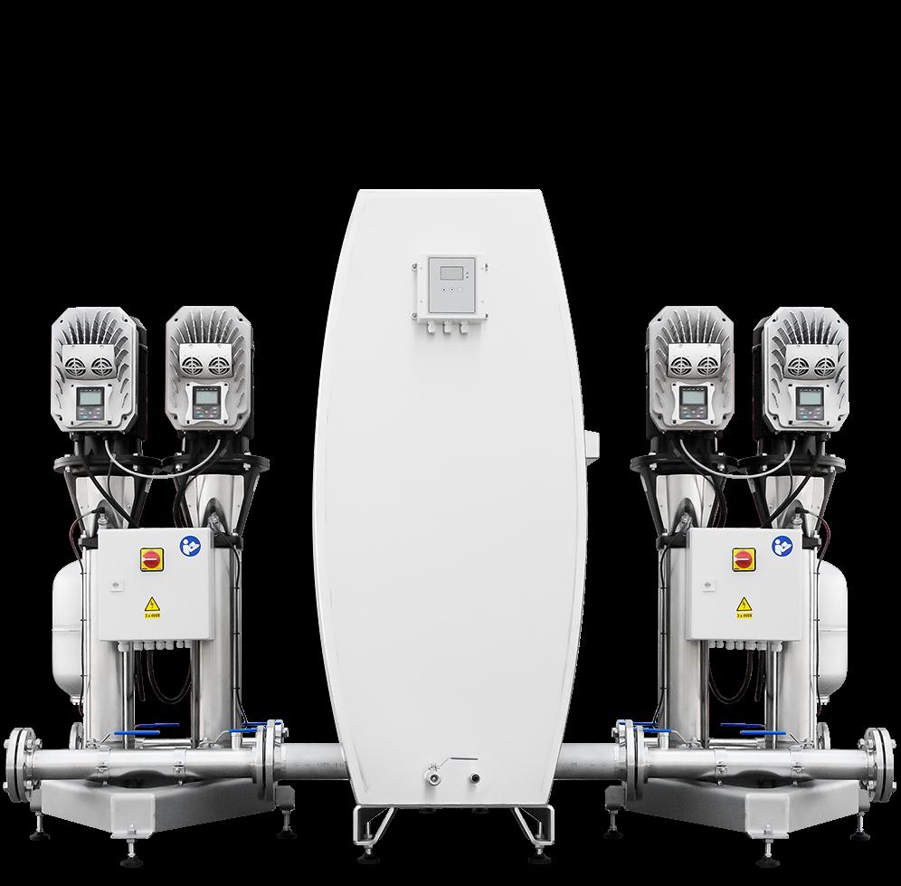 pressure‑booster unit MPU4‑EB