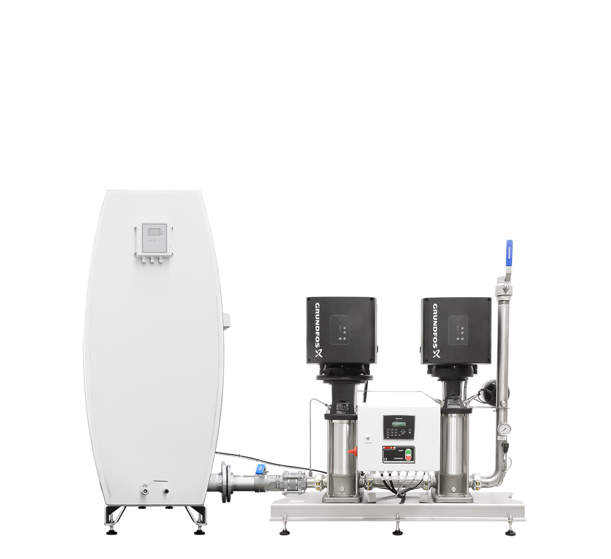 Pressure‑booster unit MPU2‑GR