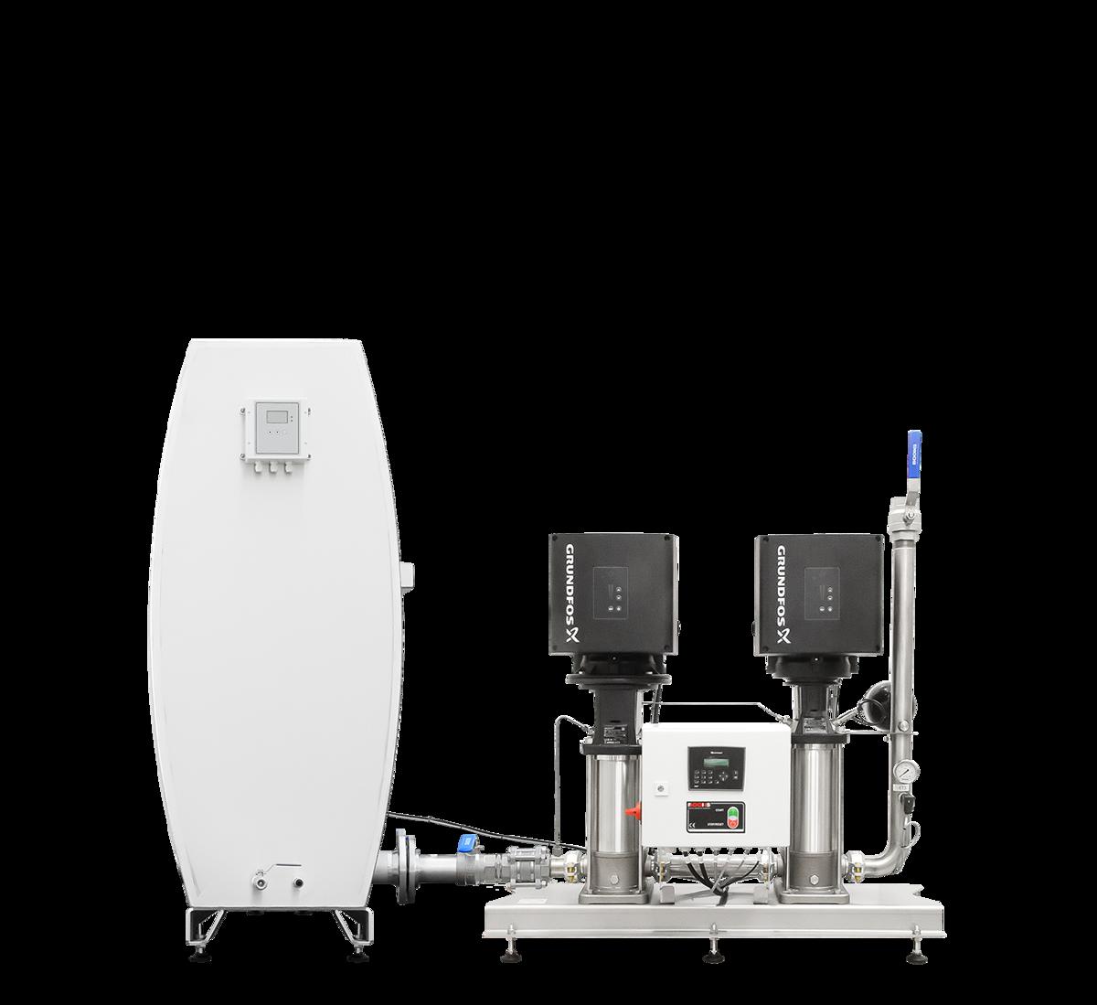 Unité d'accroissement de pression MPU2‑GR