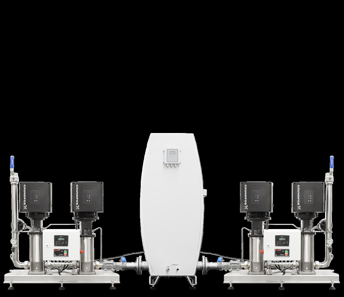 Pressure‑booster unit MPU4‑GR