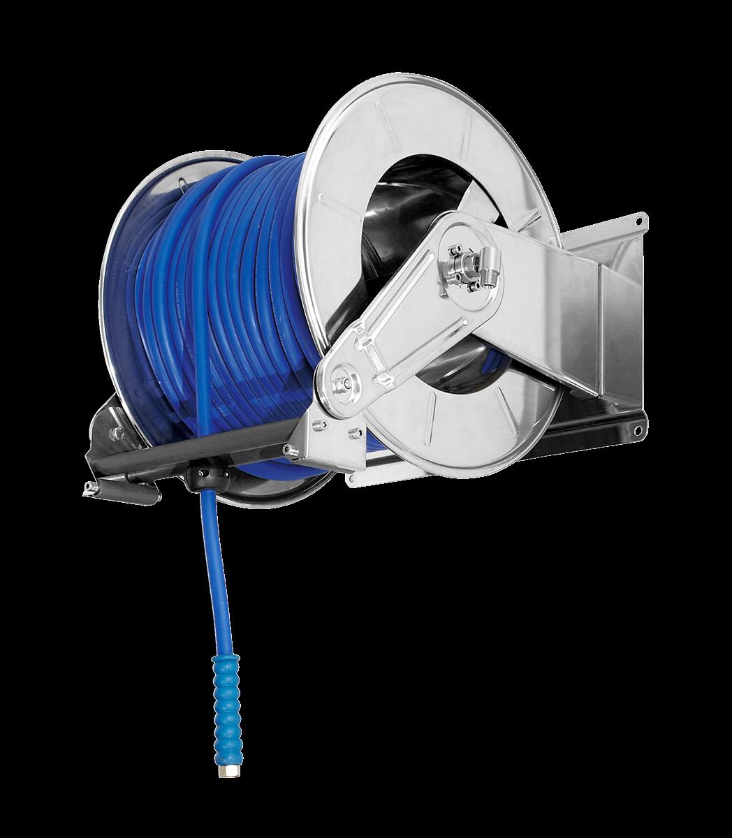 Enrouleur de tuyaux automatique <60 mètres 3/8