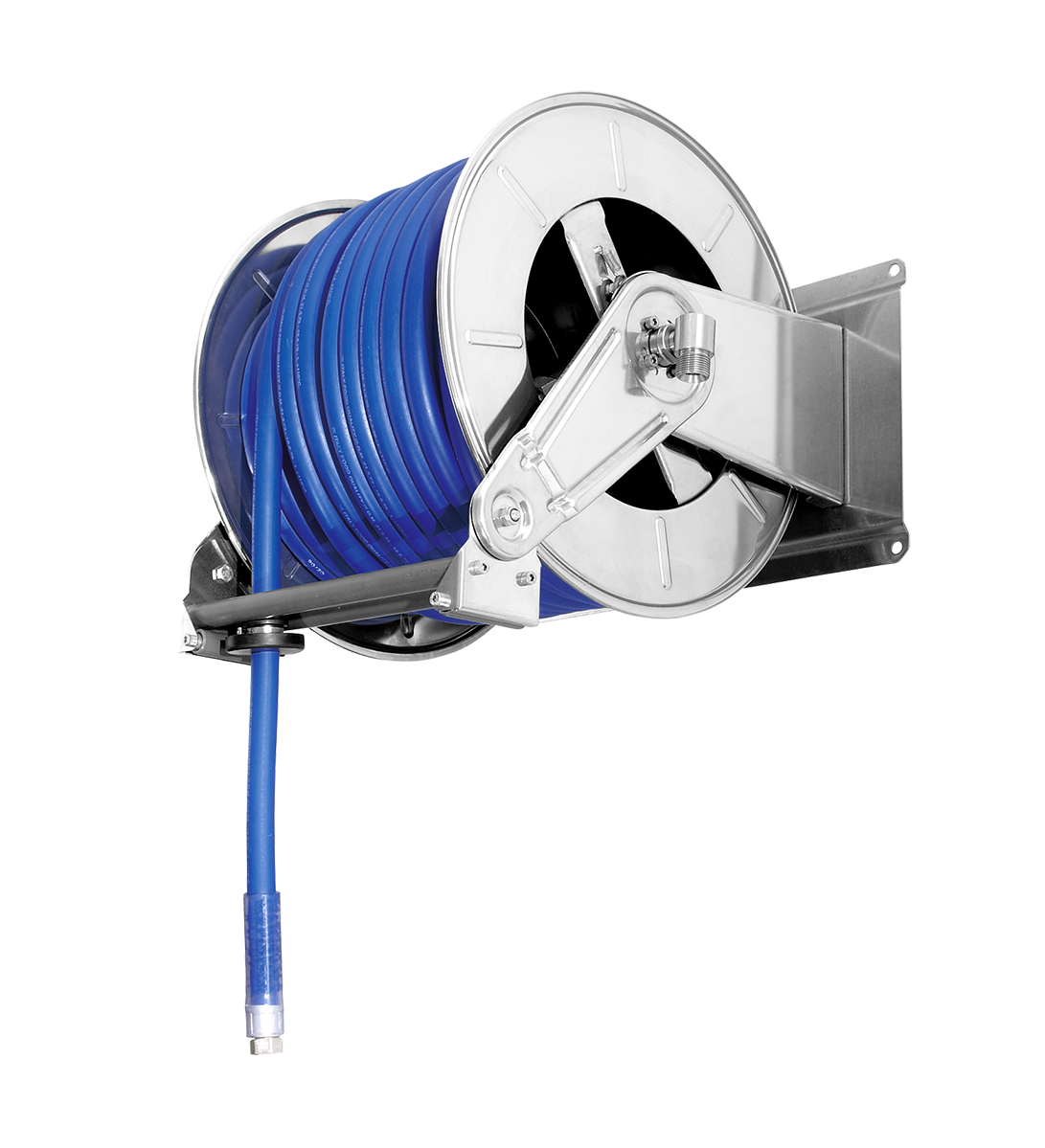Automatic hose reel<br><40 metres 3/4
