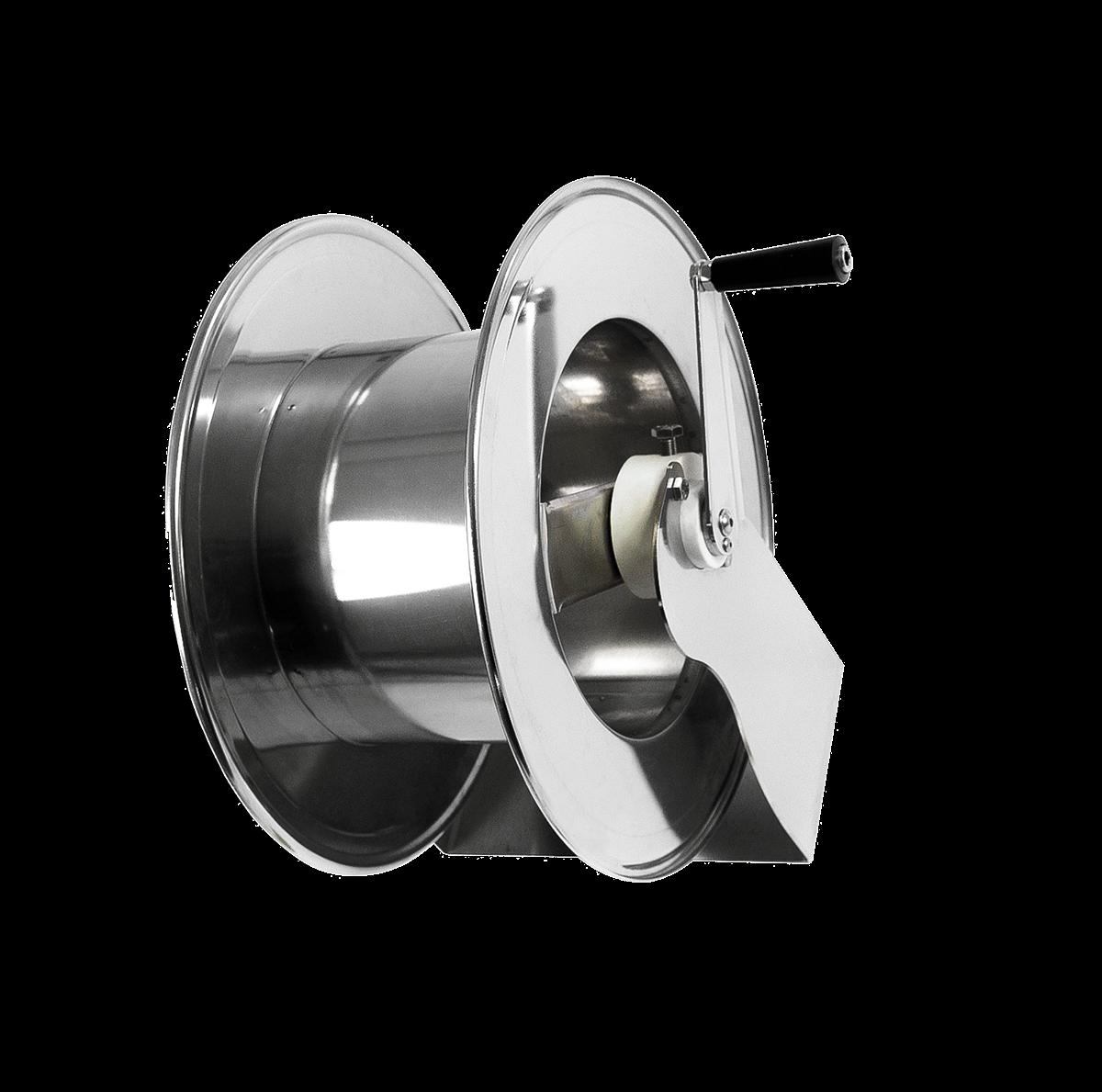 Enrouleur de tuyaux manuel <50 mètres 3/8