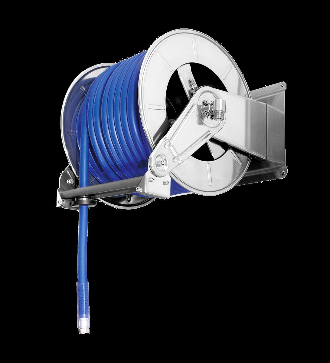 Enrouleur de tuyaux automatique <br><40 mètres 3/4