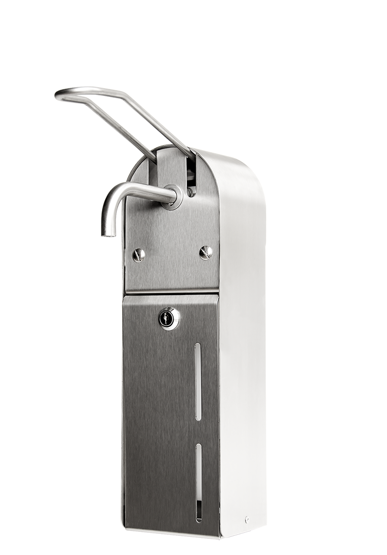 Distributeur de savon en inox<br>USP