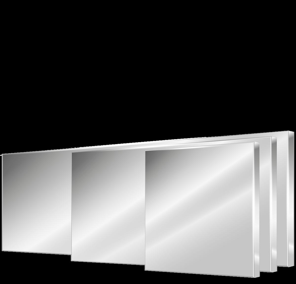 Miroirs<br>en inox<br>S50, S100 et S150