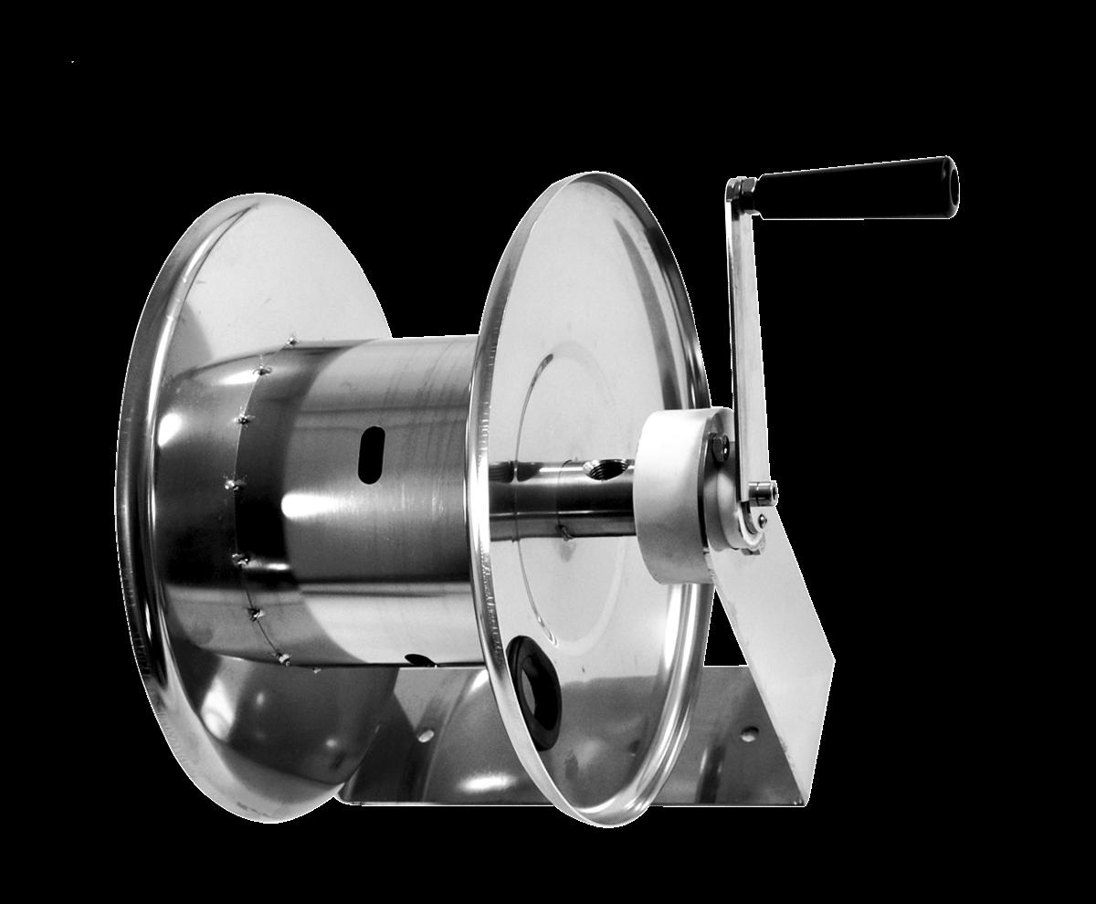 Enrouleur de tuyaux manuel <br><20 mètres 3/8