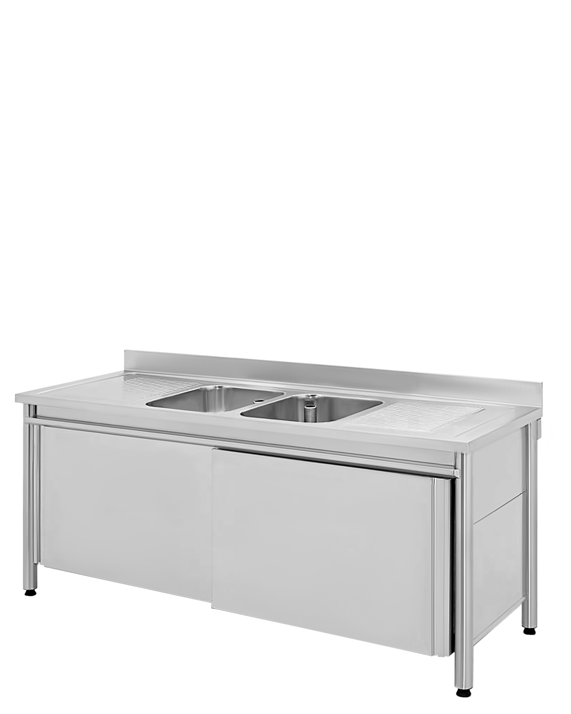 Rinsing sinks