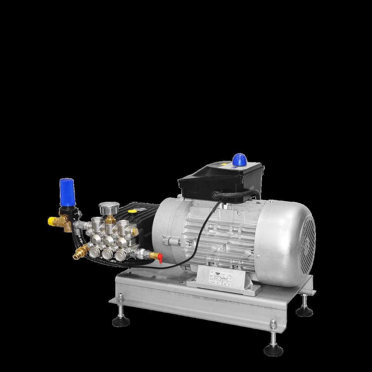 Motor‑pompunits